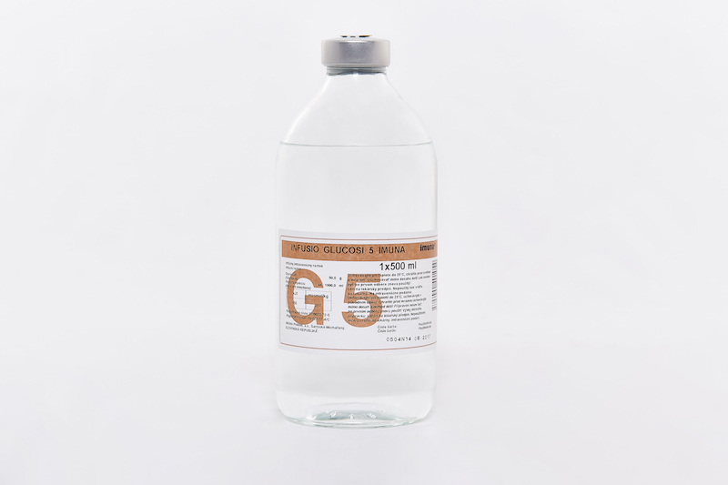 INFUSIO GLUCOSI 5 IMUNA 500ML